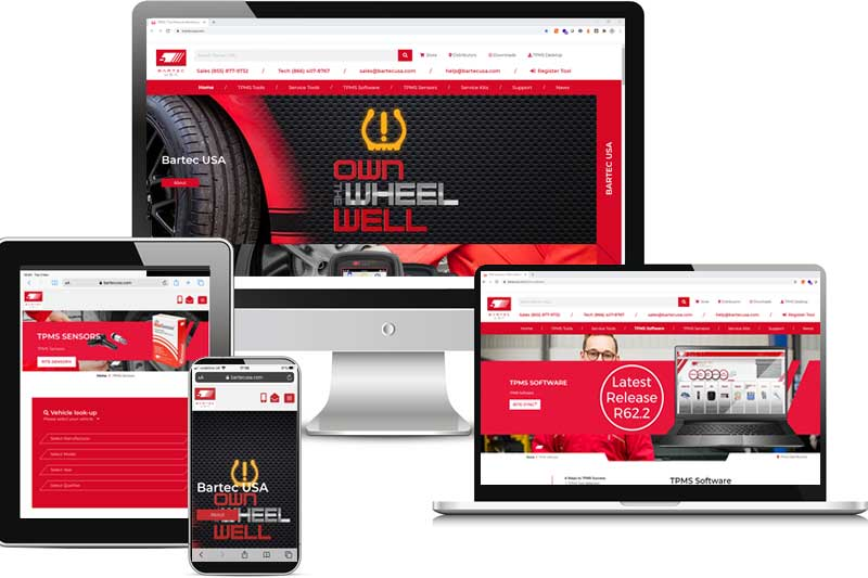 November 2020 -  New Website Launched Promoting Tech600Pro TPMS Tools