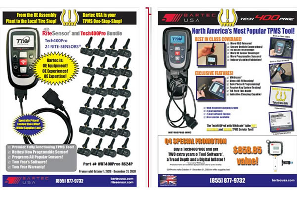October 2020 - New USA & Canada TPMS Tool Promotions Announced