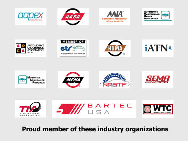 Proud Member of these Industry Organizations