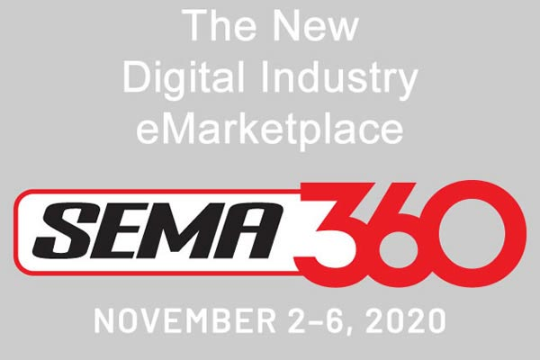 SEMA360 Announced For 2-6 November 2020