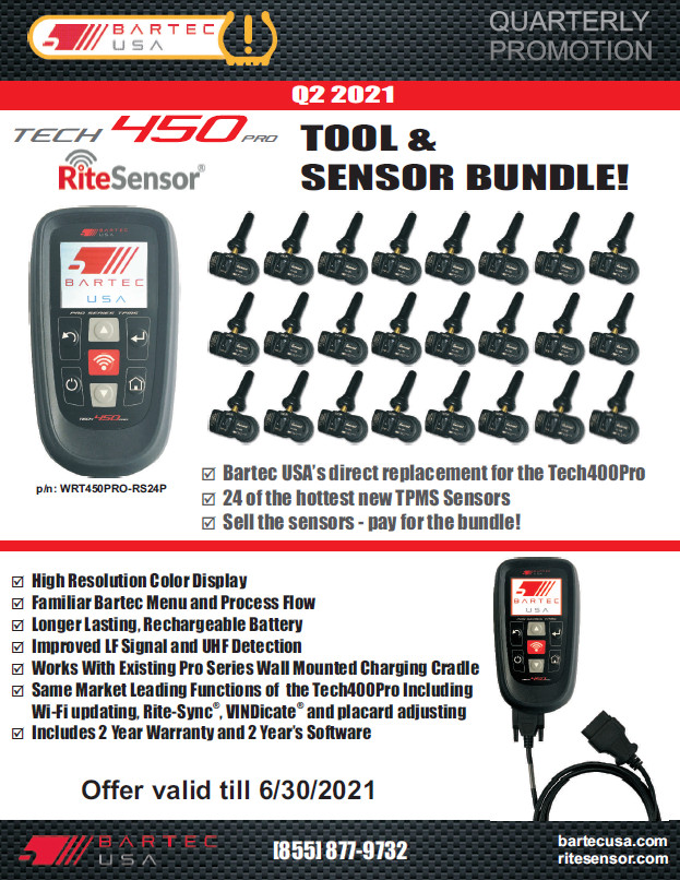 TPMS Promotions for Q2 2021