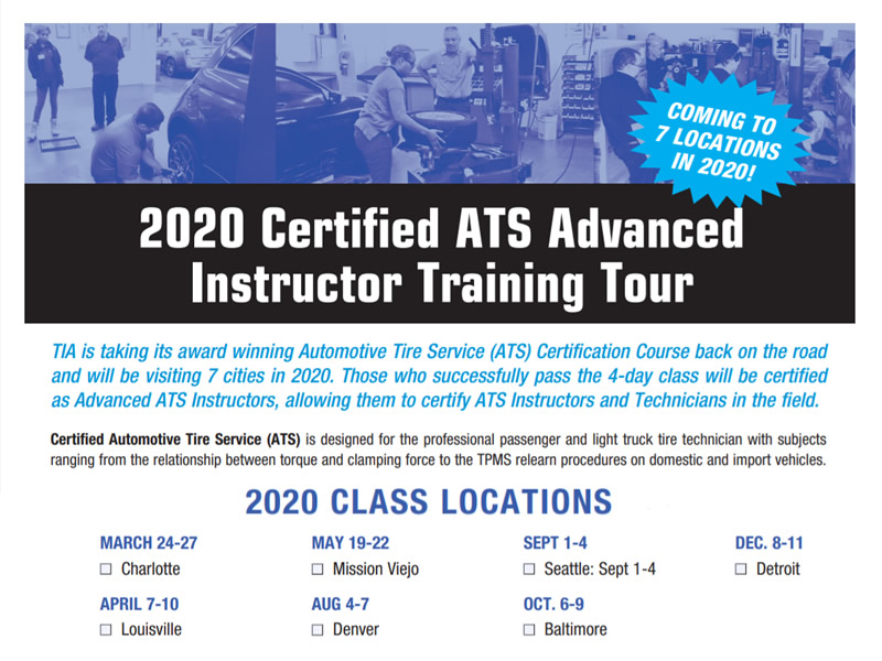 2020 Certified ATS Advanced Instructor Training Tour